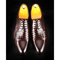 SH023-潮流織皮皮鞋